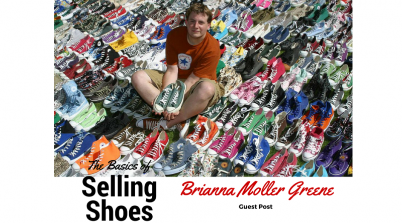 Selling Shoes by Brianna Moller Greene
