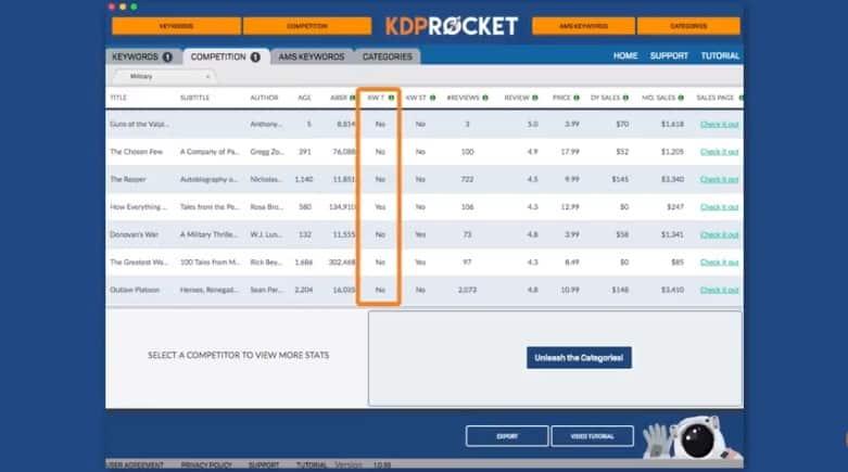KDP Rocket