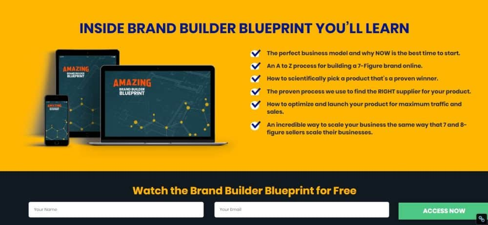 brand builder blueprint