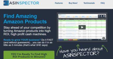 ASINspector homepage