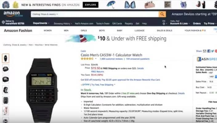Idea Generator - Calculator Watch