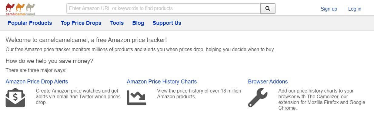 view amazon price history